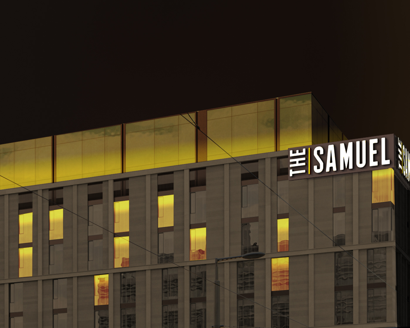 The Exterior of The Samuel Hotel